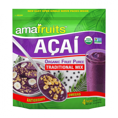 Açaí Puree Mix Guarana